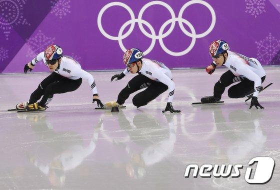 [사진]쇼트 태극전사들의 경쟁