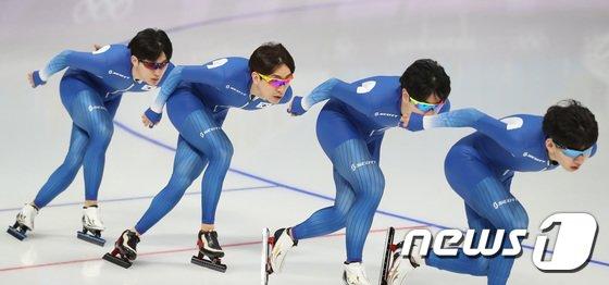 [사진]결전 앞둔 남자 팀추월