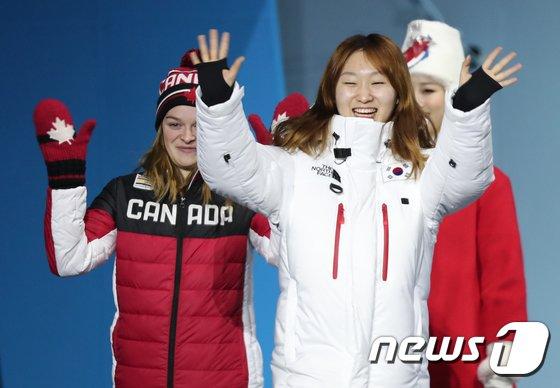 [사진]최민정 '금빛 미소'