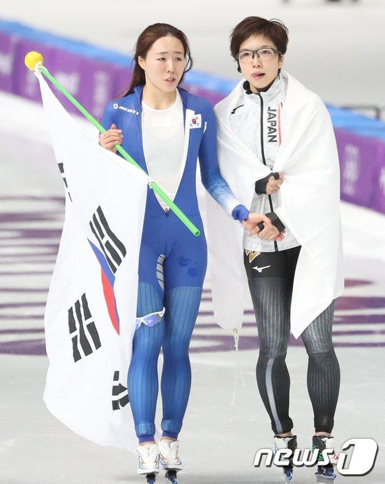 [사진]이상화 '고다이라 신기록에 무너진 3연패'