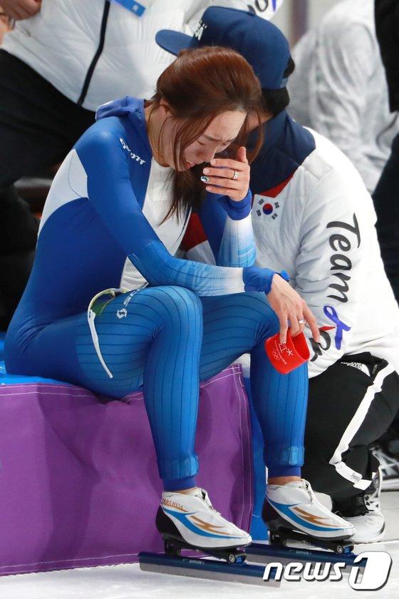 [사진]눈물 폭발하는 이상화