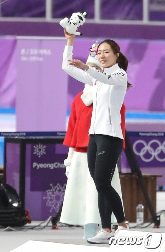 [사진]이상화 '은메달 미소'