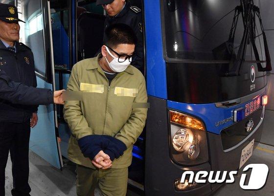 [사진]'어금니아빠' 이영학, 선고공판 출석