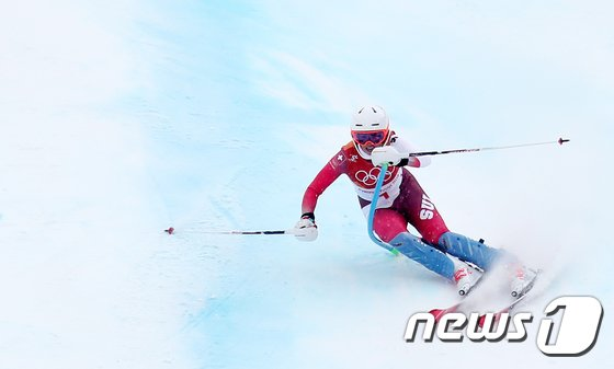[사진]미셸 지생 '더 빠르게'