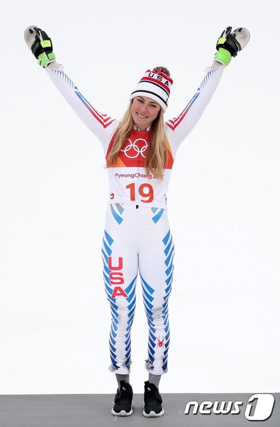[사진]미케일라 시프린 '아쉬운 은메달'