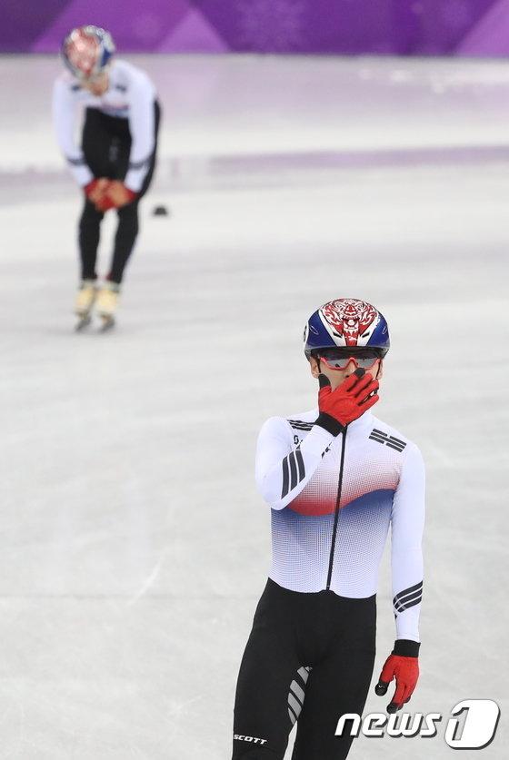 [사진]아쉬어하는 곽윤기