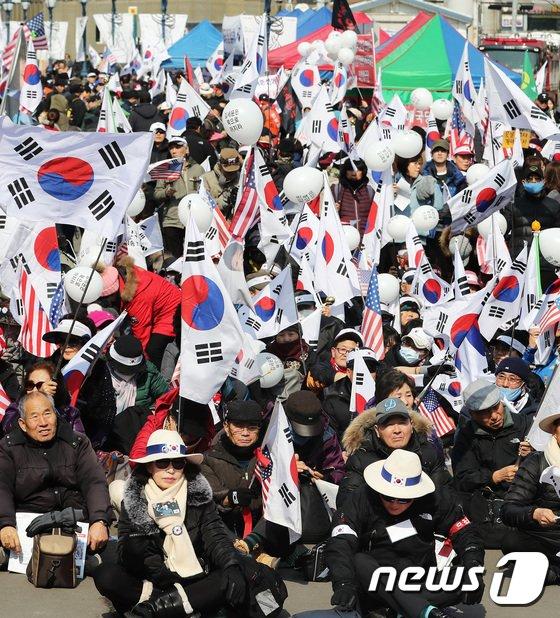 """[사진]""""김영철 방남 반대한다"""""""