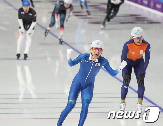 [사진]이승훈 '금빛 환호'