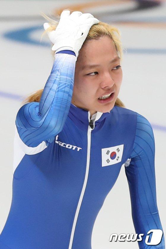 [사진]김보름 '눈물이 왈칵'