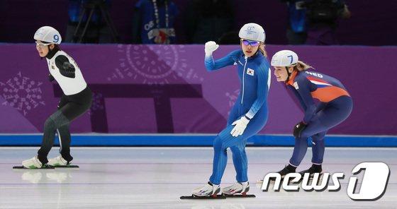 [사진]김보름 '최선을 다해 만든 값진 은메달'