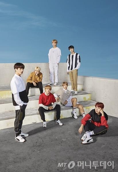 그룹 방탄소년단(BTS)/사진제공=푸마(PUMA)