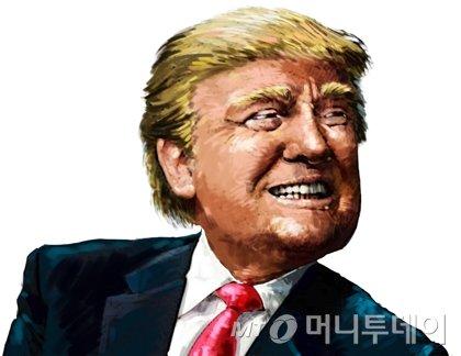 트럼프 미국 대통령. /삽화=임종철 디자인기자