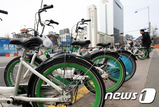 [사진]서울 '따릉이', 2년 반 만에 회원수 60만 돌파