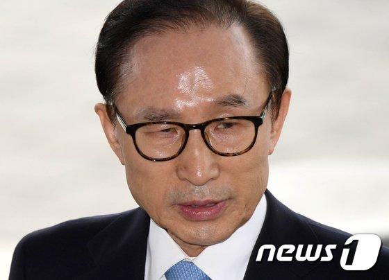 이명박 전 대통령.. 2018.3.14/뉴스1 © News1 사진공동취재단