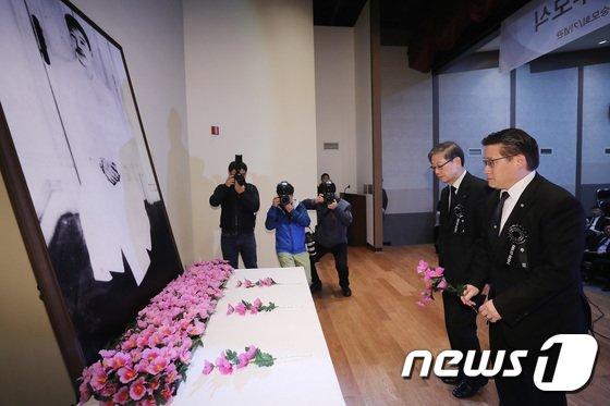 [사진]'안중근 의사 순국 108주기 추모식'