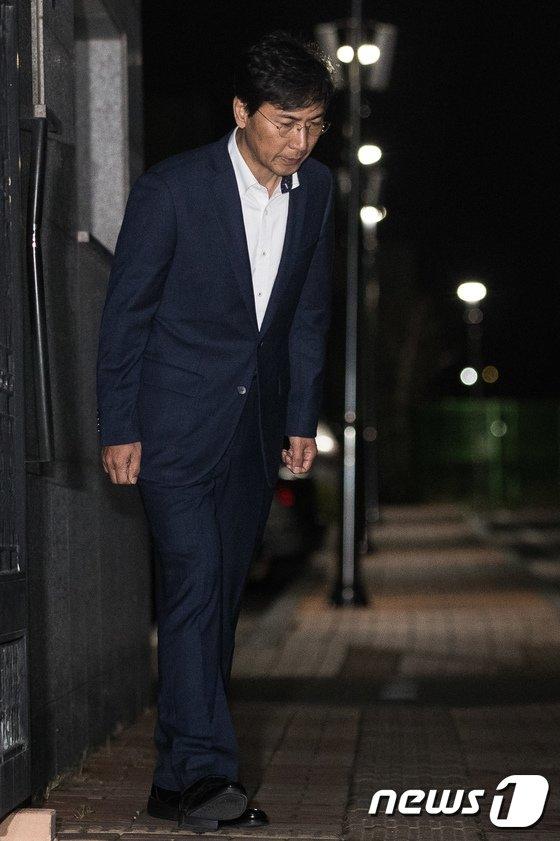 [사진]안희정 구속영장 또 기각