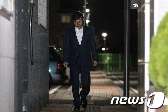 [사진]'혐의 다퉈볼 여지' 안희정 영장 또 기각