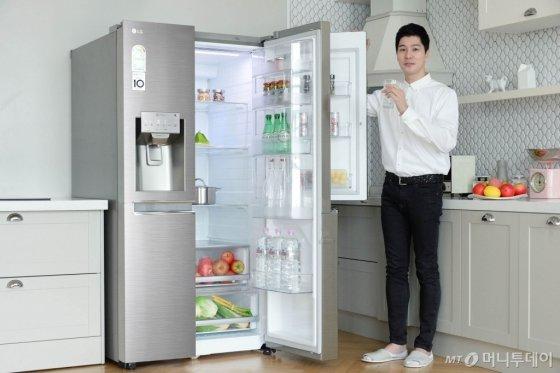2018년형 디오스 냉장고 신제품/사진제공=LG전자