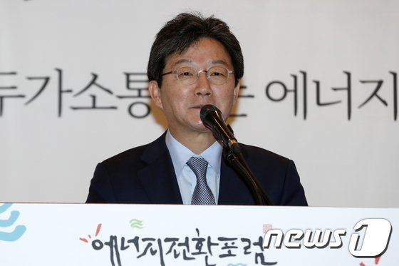[사진]축사하는 유승민 대표
