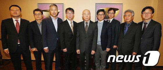 [사진]이효성 위원장, 방송채널사용사업자(PP) 업계 대표자 간담회