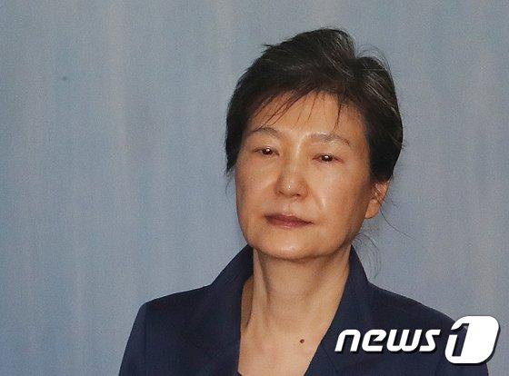 박근혜 전 대통령(뉴스1 DB). © News1