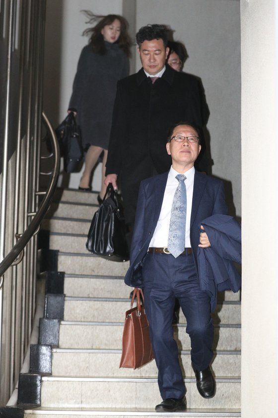 朴 없는 朴 재판의 국선변호인들. /사진=뉴스1