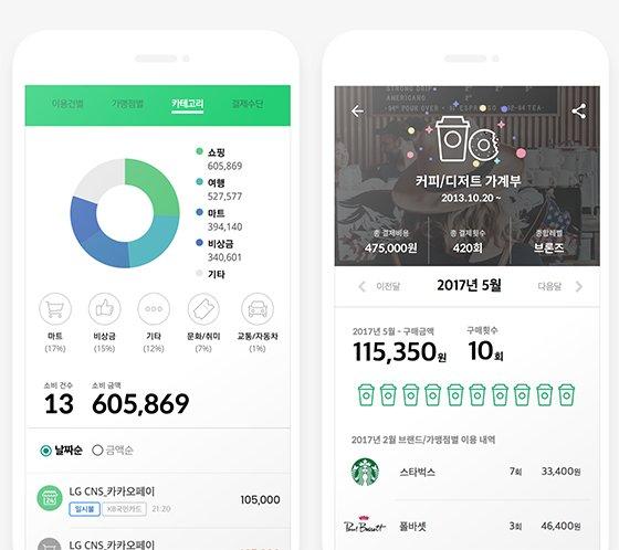 시그널 가계부 앱 화면 캡처