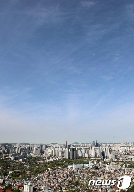 [사진]오늘 서울 '맑음'