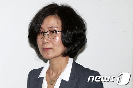 권인숙 법무부 성희롱·성범죄 대책위원장. 2018.4.4/뉴스1 © News1 민경석 기자