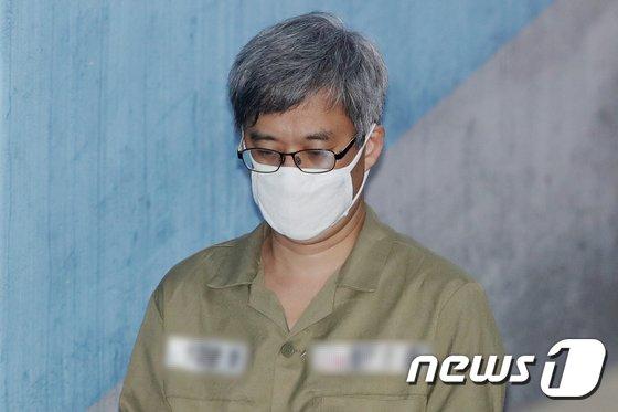 '드루킹' 김모씨 © News1 민경석 기자