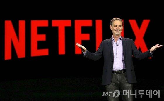 넷플릭스 공동창업자 겸 CEO 리드 헤이스팅스. /사진=블룸버그
