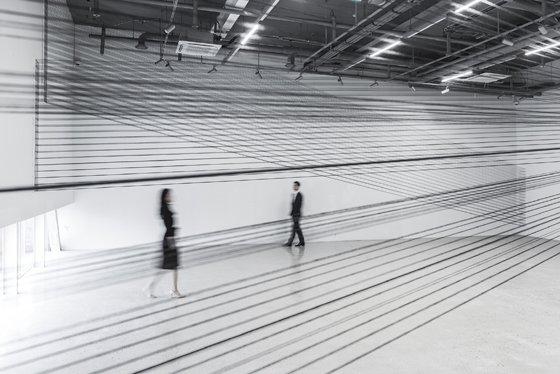 강은혜, Passage, 2017, Cotton yarn, Site-specific installation./사진제공=아트1