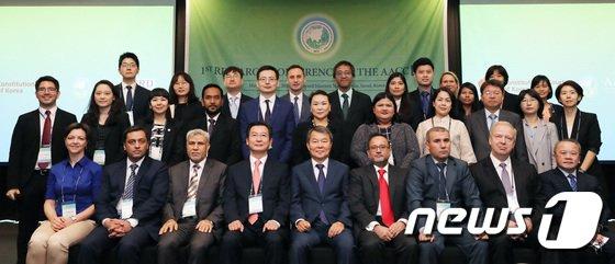 [사진]서울에 모인 아시아헌법재판소 연구관들