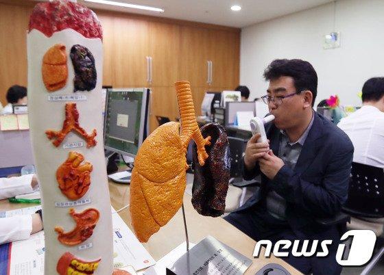 [사진]'세계 금연의 날' 송파구가 금연 성공 도와드려요