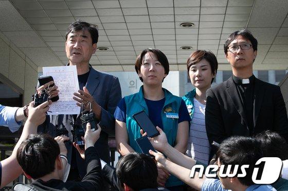 [사진]KTX 해고 승무원들 대법원장 비서실장과 면담 결과는?