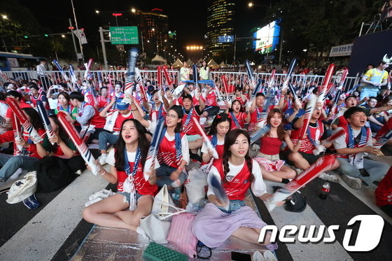 [사진]한국 대 스웨덴 '결전의 시간'