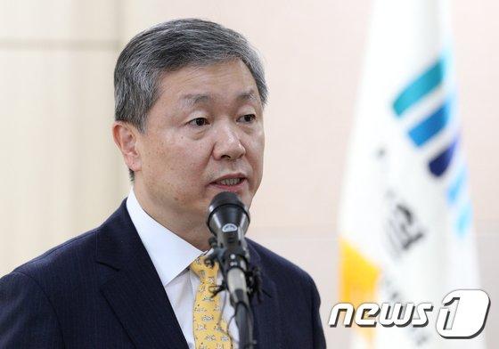 박성진 신임 검사장 2017.11.1/뉴스1 © News1 신웅수 기자