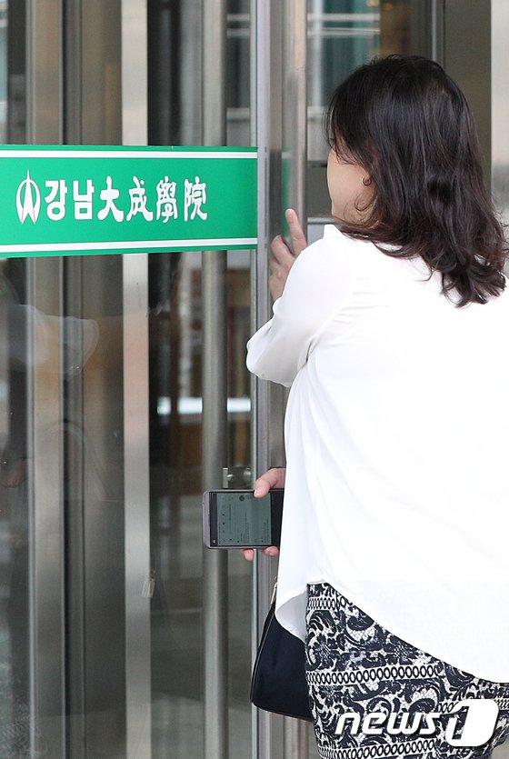 [사진]입시학원에서 결핵 확진자 발생
