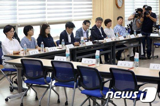 [사진]최저임금위원회...노동계 불참