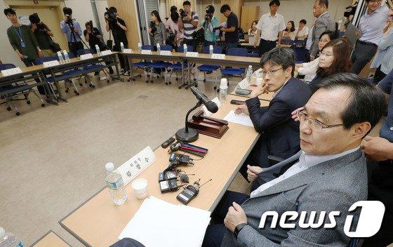 [사진]최저임금위원회 전원회의, 노동계 불참