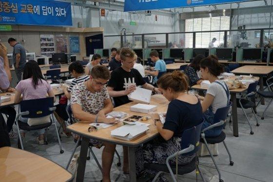 코리아텍, 재학생과 외국학생 함께하는 글로벌 캡스톤 개최