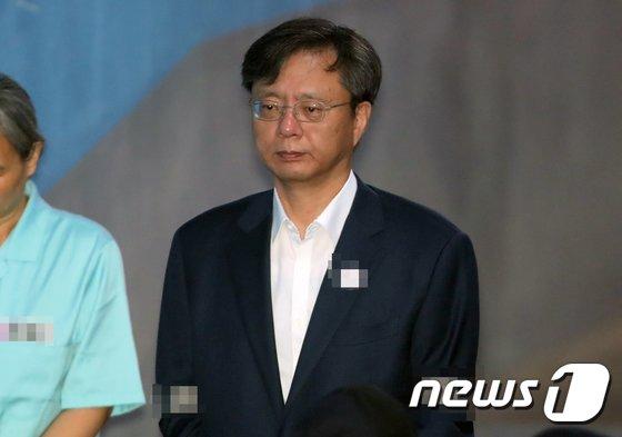 [사진]법원 출석하는 우병우 전 민정수석