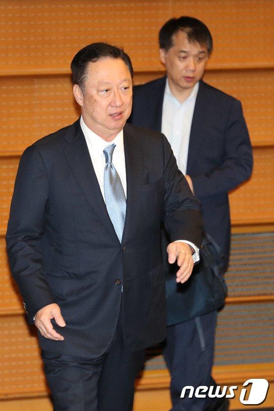[사진]컨퍼런스 참석하는 박용만