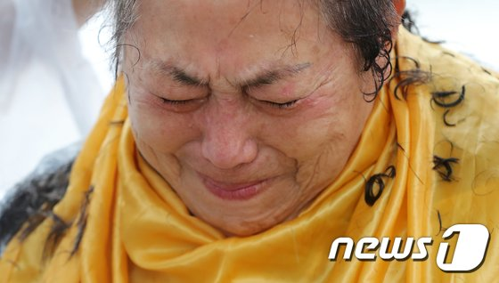[사진]'5.18 희생자 유가족의 눈물'