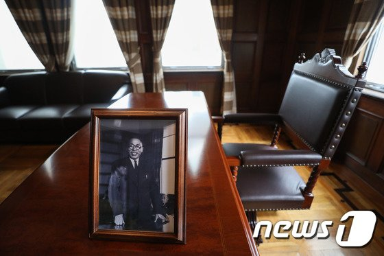 [사진]백범 김구 선생의 숨결이 스민 응접실