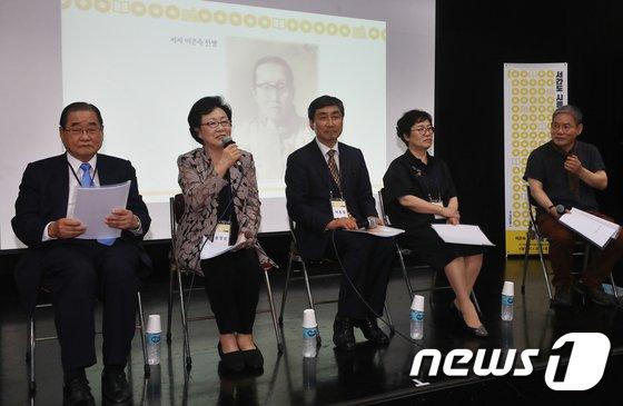 [사진]'서간도 시종기 낭독회' 개최…여성독립운동가 재조명