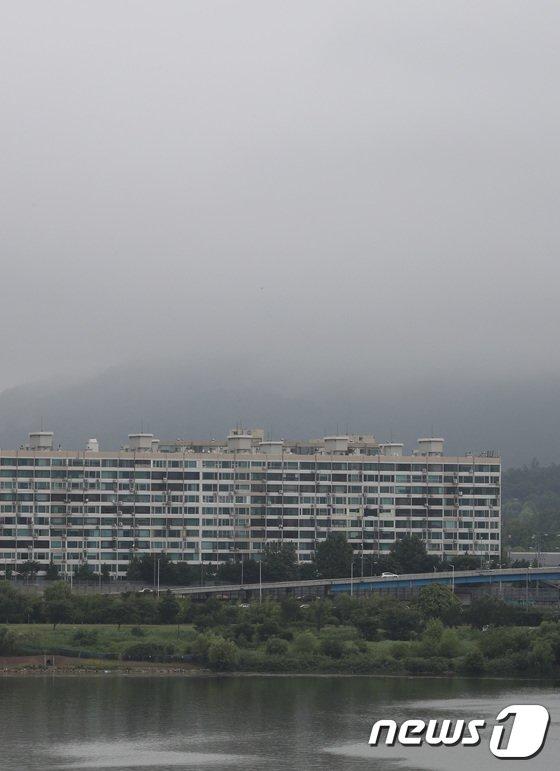 [사진]'남산타워가 어디갔지?'