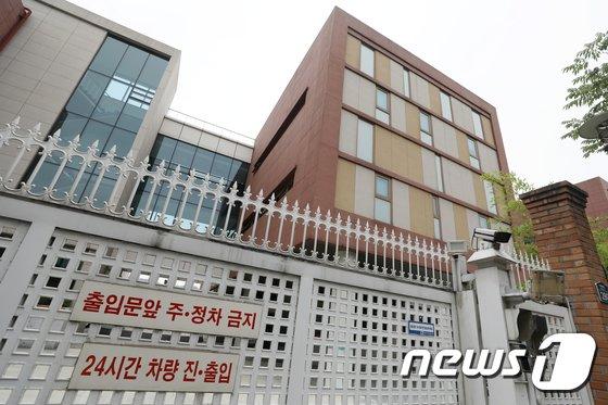 [사진]검찰, 경찰청 정보분실 압수수색…삼성 노조와해 관련