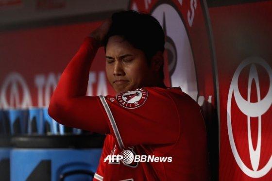 투타겸업 선수 오타니는 치료에도 특별한 사례가 될 수밖에 없다./AFPBBNews=뉴스1