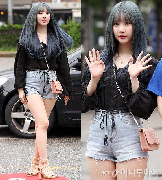 그룹 여자친구 은하/사진=김휘선 기자